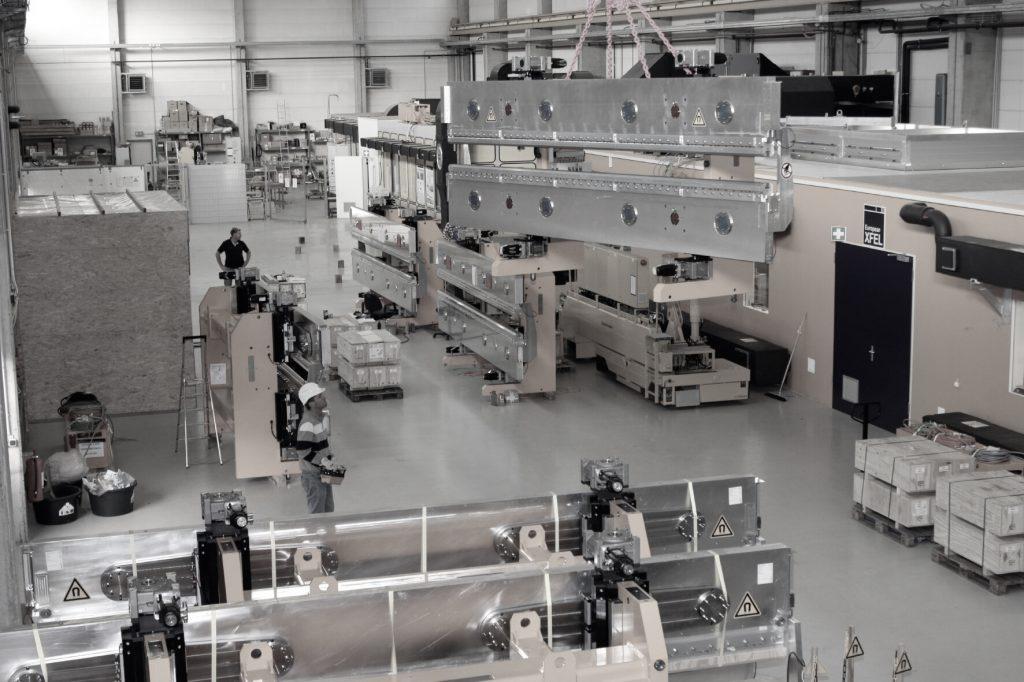 Undulator-Labor am 30. Oktober 2012Undulator lab on 30 October 2012